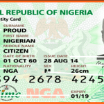 Nigerian National ID Card Registration Requirements – National Identity Card Registration