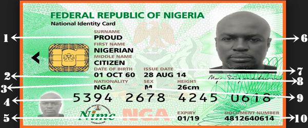 Nigerian National ID Card Vs Nigerian Voters Card