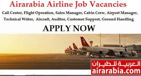Air Arabia Airlines Job Recruitment