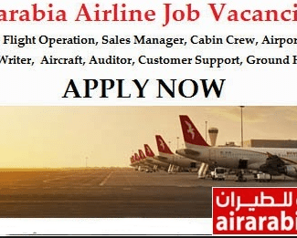 Air Arabia Airlines Job Recruitment