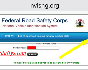 How To Check Genuine Number Plates In Nigeria