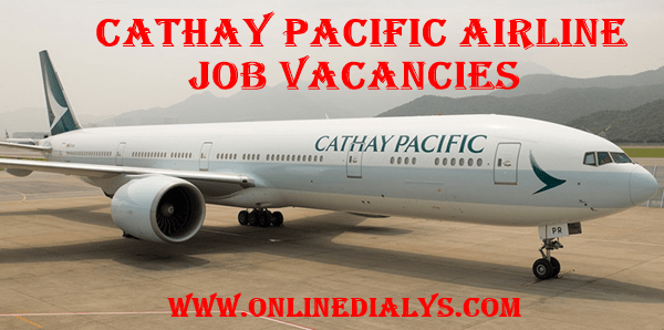 Apply Cathay Pacific Airways Job Vacancies
