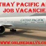 Apply Cathay Pacific Airways Job Vacancies | jobs.cathaypacific.com Job Application Portal