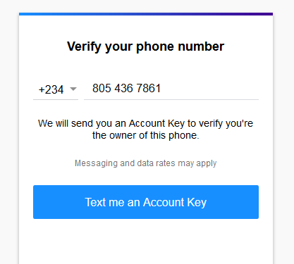 Image: Yahoo mail verify phone number