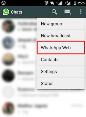 How To Use Whatsapp Web On Phone