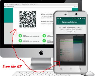 Logo: scan whatsapp qr