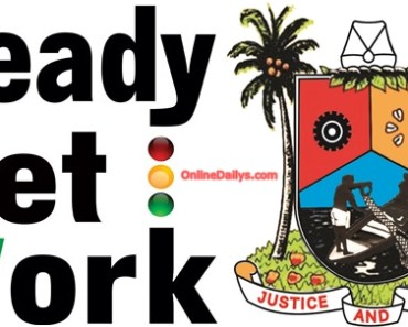 Lagos Ready Set Work logo