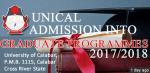 UNICAL 2017/2018 Postgraduate Admission Application | Requirements & Exam Dates