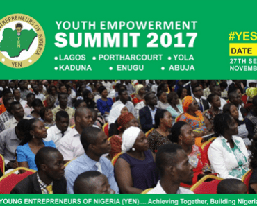 YEN Youth Empowerment Summit 2017 Registration Form