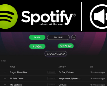 Logo Spotify Login Web Player Account