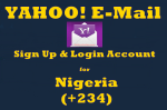 Yahoo Sign Up Nigeria New Email Account | Signup YahooMail Form