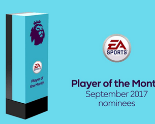EPL September Player, Goal And Manager of The Month Nominees