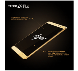 2017 Top 10 Latest Tecno Smartphone Prices, Specification 8