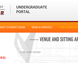 How To Check Your UNICAL 2017 Post UTME Date And Venue