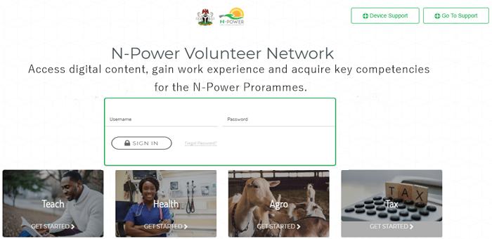 nPower login portal