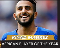 Full List Of CAF African Player Of The Year Nominees, Mahrez Omitted