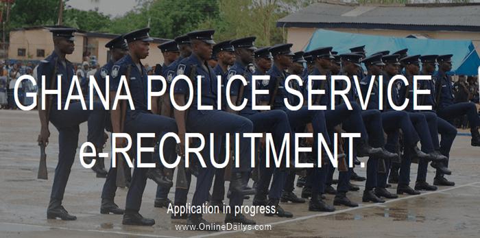 Ghana police form banner