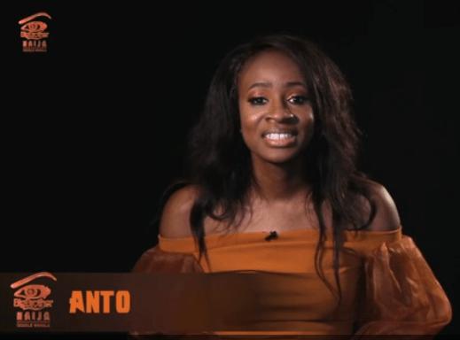 Anto - #BigBrotherNigeria 2018 Housemate