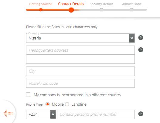 company form 2
