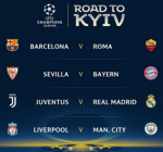 Champions League Quarter Final Draw – Liverpool To Face Man City