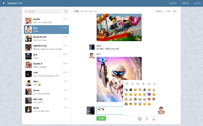 Telegram Web Login