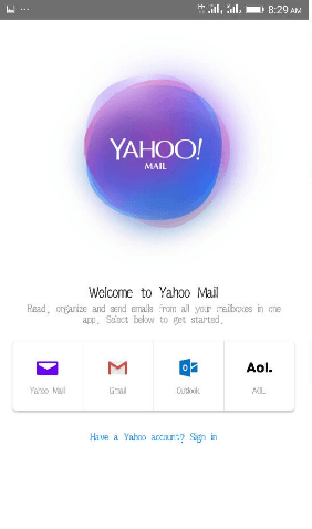 Create Yahoo Account Using Mobile Phone