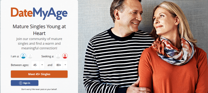 DateMyAge.com Account Registration