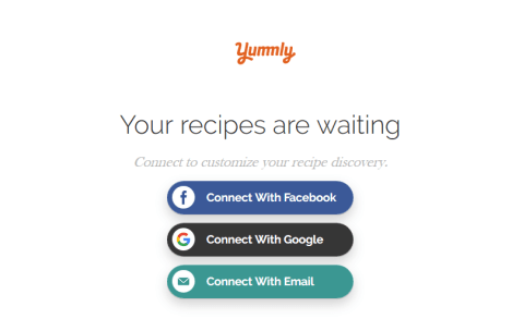 Yummly Recipe Account Registration - Download Yummly.com App Here 2