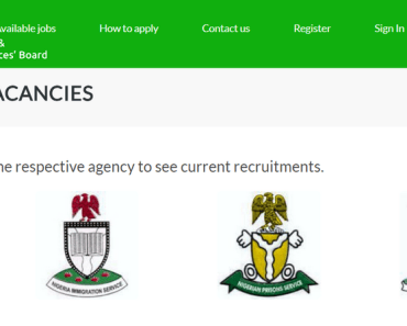 How to Apply Civil Defence, Fire, Immigration & Prison Service Job Online
