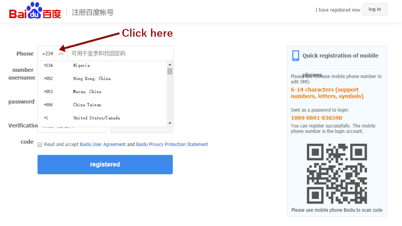 Baidu Account Sign Up Without Chinese Phone Number - ONLINE DAILYS