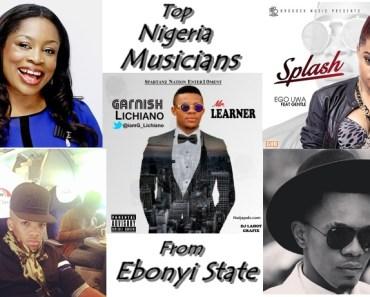 Top 5 Ebonyi State Musicians