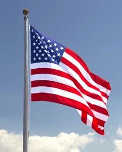 USA National Flag - United States of America's National Anthem