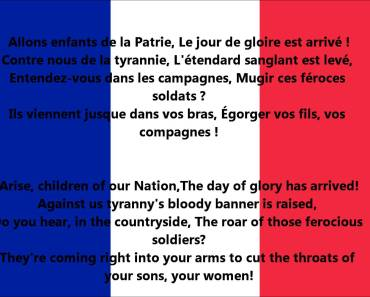 France National Anthem Video And Lyrics