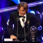 Congrats Luka Modric: 2018 Ballon d'Or Winner | Messi 5th