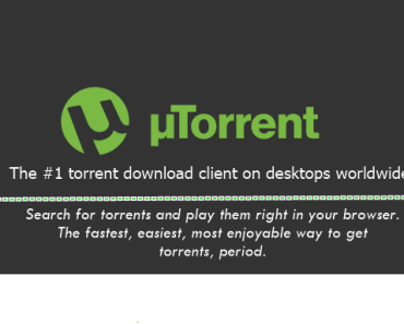 uTorrent download client