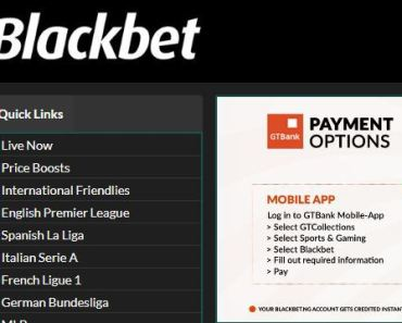 Sign Up Blackbet Account | Blackbet.ng Registration | www.blackbet.ng
