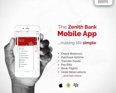 Zenith Bank Mobile Banking Registration Guidelines - Download Zenith Mobile App