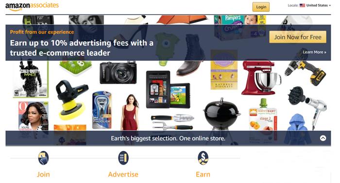 Image of Amazon Associates Account Registration