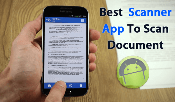 Top Best Scanner Apps For Android Phones