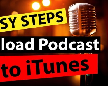 How To Upload Podcast On iTunes Apple Podcast