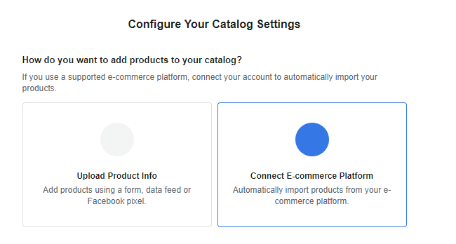 How To Create Facebook Catalog