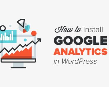 Install Google Analytics To Wordpress