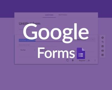 Create Google Forms