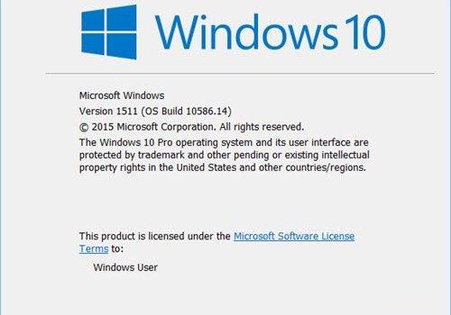 Check Windows Version