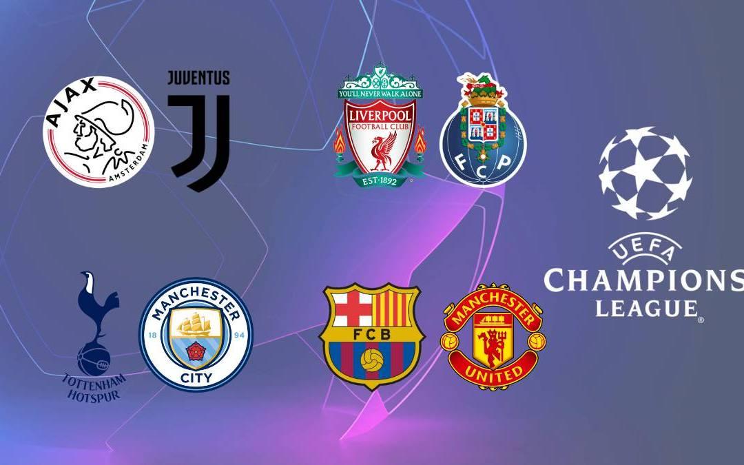UEFA Champions League Quarter Final Draw 2019 – Full Fixtures