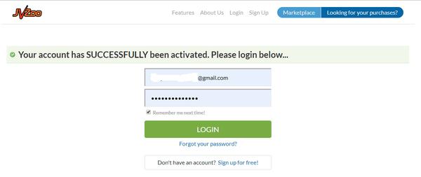 jvzoo affiliate account 3