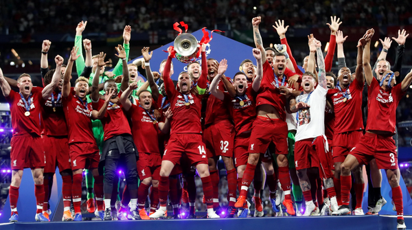 Image result of Liverpool Win UEFA 2019