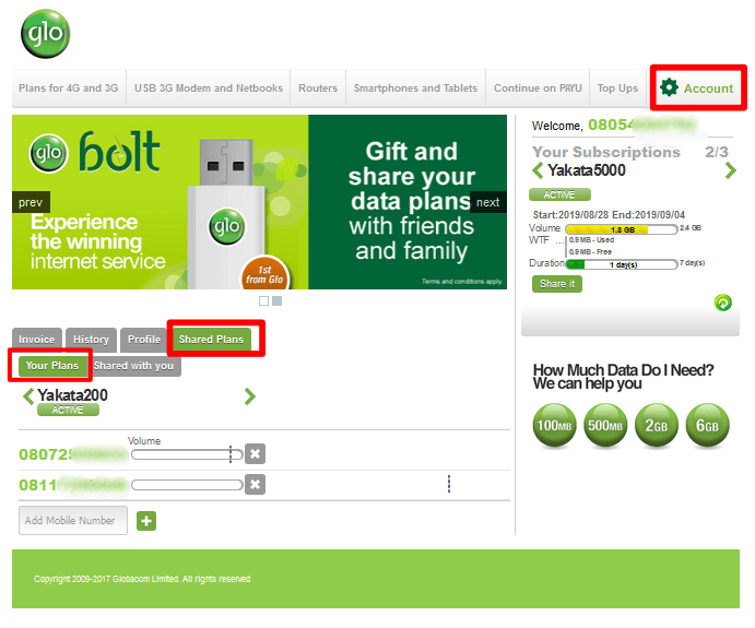 How to Monitor Glo Data Usage Online - See your Data Use Report 1