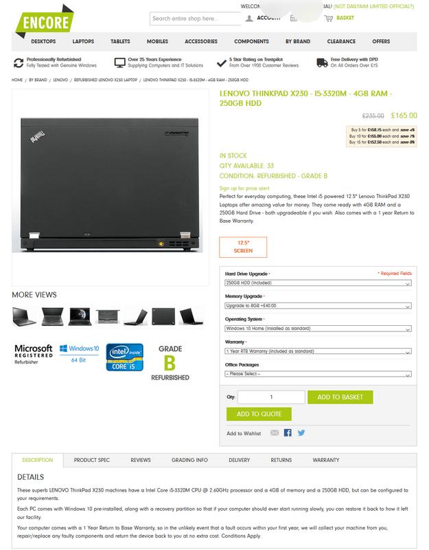 refurbished laptops webaite