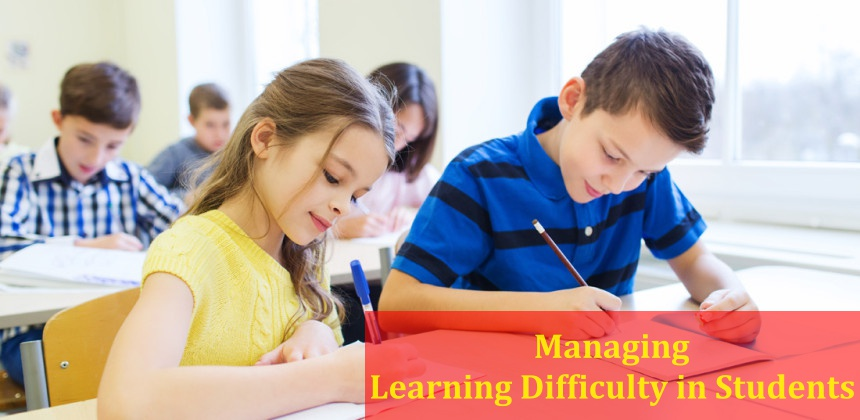 Managing Learning Difficulty in Students